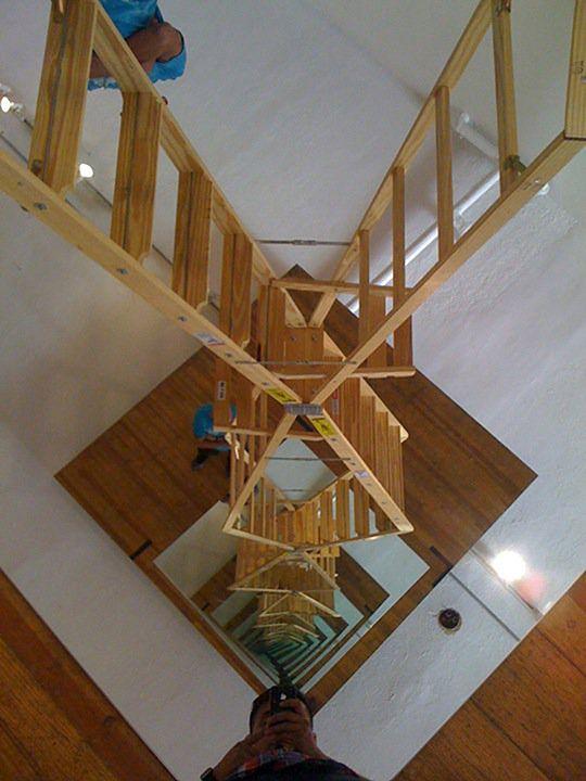 Infinite ladder   Dmitri Obergfell