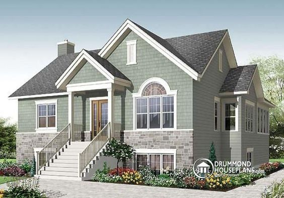 Floor Plans Bungalows And Large Families On Pinterest