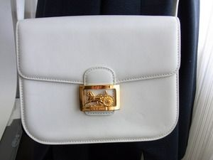Celine paris made in france horse carriage cross body shoulder bag ...