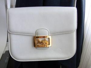 celine online - Celine paris made in france horse carriage cross body shoulder bag ...
