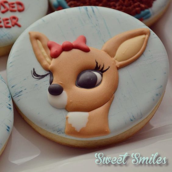 Clarice - Rudolph the Red-Nosed Reindeer Cookies
