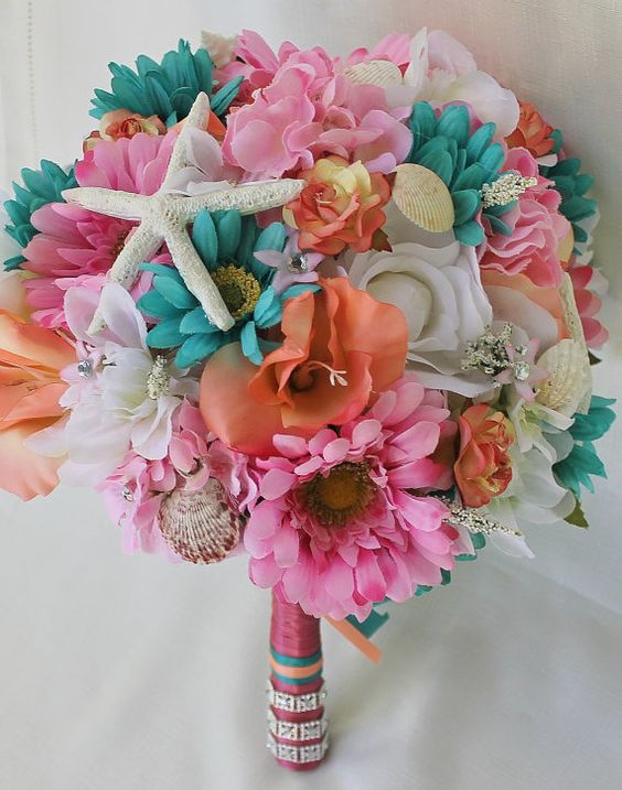 wedding flowers and bouquets custom order for tropical wedding bouquet 9528
