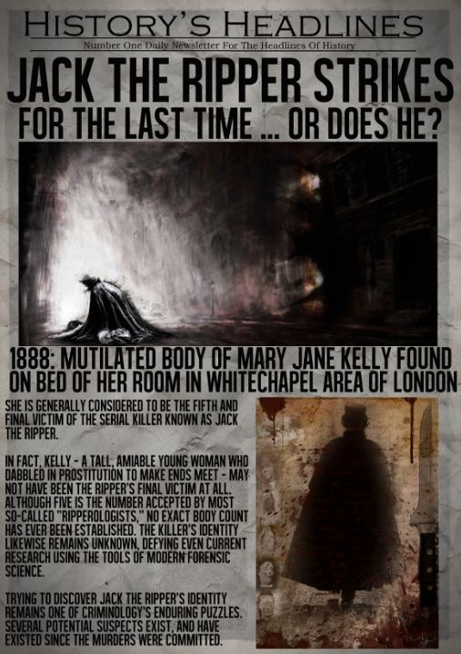 Need help on my essay about Jack the Ripper?