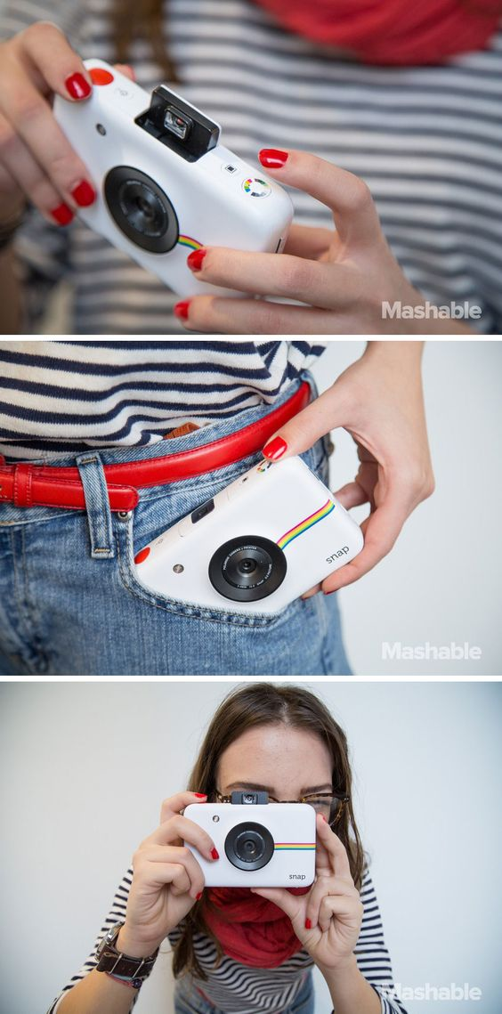 The Snap camera is an instant camera that prints photo stickers