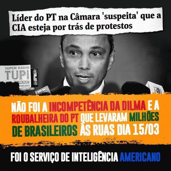 Post  #FALASÉRIO!  : A explicação petista para as manifestações de domi...