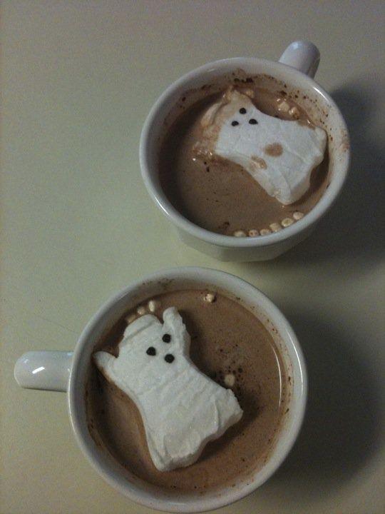 Hot Chocolate w/ Peeps