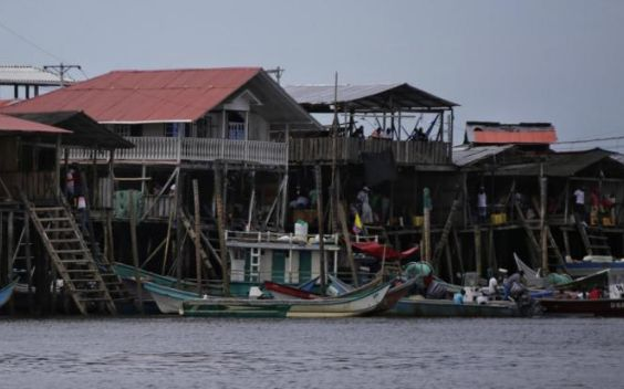 Tumaco is a cross-border town in Colombia