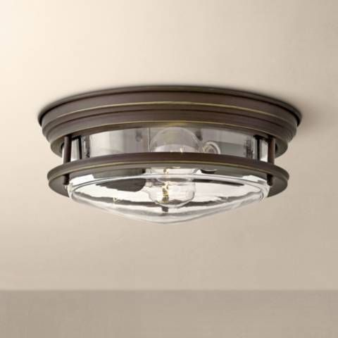 Hinkley Hadley 12 W Oil Rubbed Bronze 2 Light Ceiling Light 38c28 Lamps Plus Ceiling Lights Lamps Plus Oil Rubbed Bronze