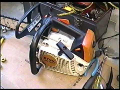 Stihl Ms192t Chainsaw Repair With Images Chainsaw Repair Bike Repair Repair