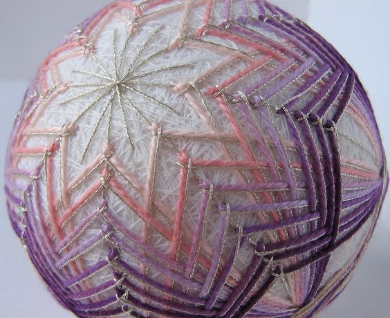 Decorative Woven Balls Decorative Ball Home Decor  Hand Embroidered  Japanese Temari