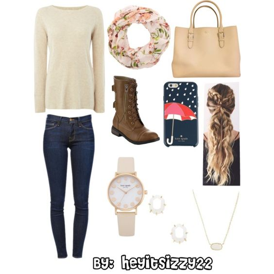 Cold Winter Day by heyitsizzy22 on Polyvore featuring La Fée Maraboutée, Frame…