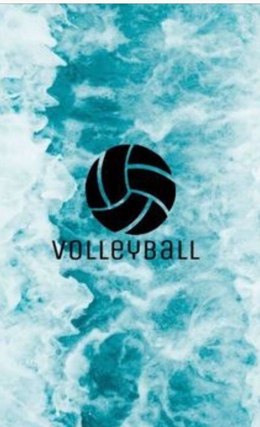 Pin By Reannah Lang On Volleyball Volleyball Wallpaper Volleyball Backgrounds Volleyball Drawing