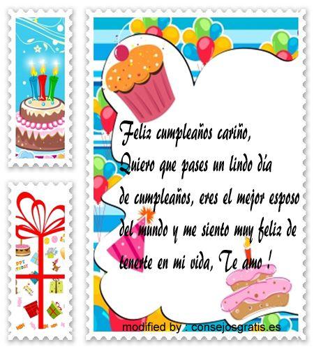 buscar imàgenes bonitas con palabras de cumpleaños para mi marido,pensamientos de cumpleaños
