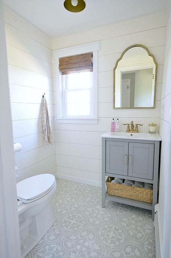 34 Really Unique Ideas For Your Half Bathroom That Will Thrill Your Family And Friends With Images Powder Room Renovation Bathrooms Remodel Bathroom Design