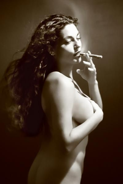 foto smoking pipe women nude