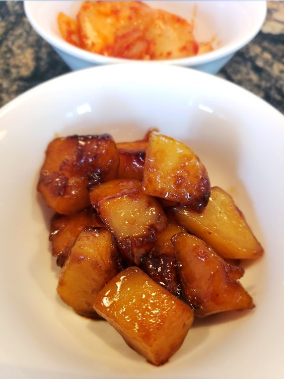 Gamja Jorim, Korean Braised Potato Side Dish