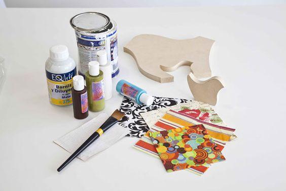 decoupage tutorial: De Decoupage, Inspiration, Decoupage Color, Con Decoupage, Pajaritos Deco, Ideas De