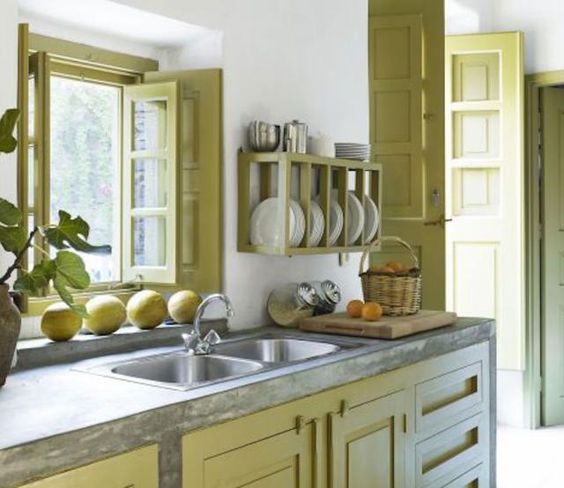 Pinterest the world s catalog of ideas for Yellow green kitchen ideas