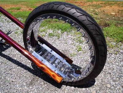 World's First Hubless Chopper Bike...Cool! | Cool Cars and Bikes