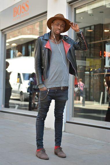 Saint Laurent Shoe Lace Jean Jacket