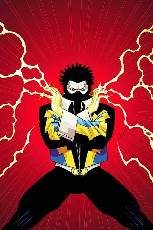 Black Lightning by Cully Hammer