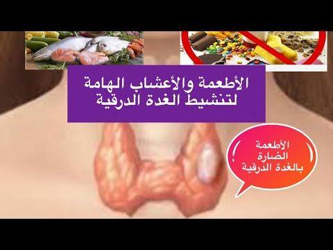 الاطعمة والأعشاب المنشطة للغدة الدرقية الخاملة الغذاء الضار الممنوع مالايعرفة احد تجربتي الشخصية