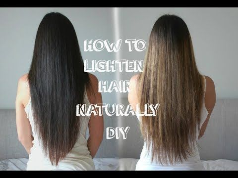 How To Highlight Your Hair With Chamomile Easy Natural Youtube Lighten Hair Naturally Chamomile Hair How To Lighten Hair