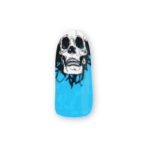 Skully Wag - Blue Nail Wrapz