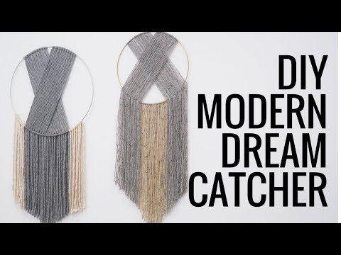 Youtube Modern Dream Catcher Dream Catcher Dream Catcher Diy