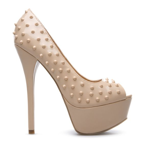 $44.95 SORCHA in Nude from SHOEDAZZLE