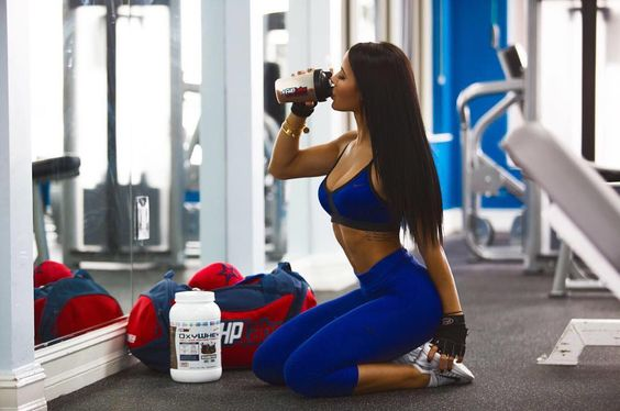 Repost via Instagram: can we talk about this new @ehplabs MOCHA #oxywhey ?  literally the most amazing protein I've ever had. I make mine and pour it over ice  protein is a must if you wanna build that ! code: katya10 by katyaelisehenry