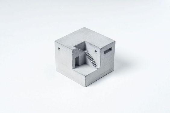 Concrete Miniature Buildings Celebrate Classic Architecture | iGNANT.de