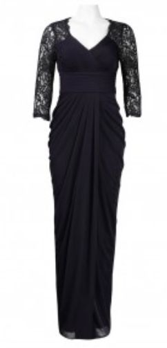 Adrianna Papell Raglan Lace Gown 08189840 | Cynthia Steele