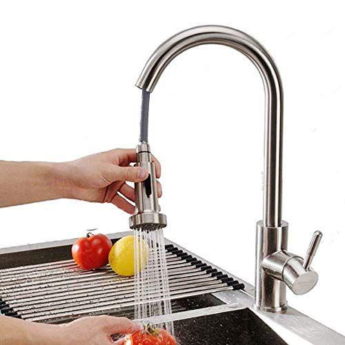 Ausziehbar Wasserhahn 2 Derpras Wasserhahn Bad mit ausziehbarer Brause