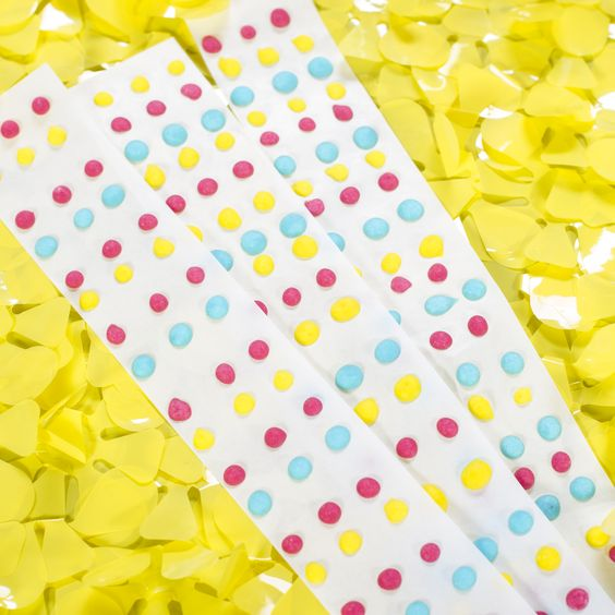 Our Mix A Treat Candy Dots Kit Will Have You Mixing Up Colors Of Candy Then Use The Pastry Bags To Drop Onto The Guideli Dots Candy Tiffany Party Food Coloring