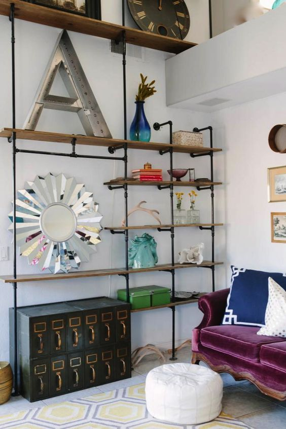 Ohhh, these industrial shelves