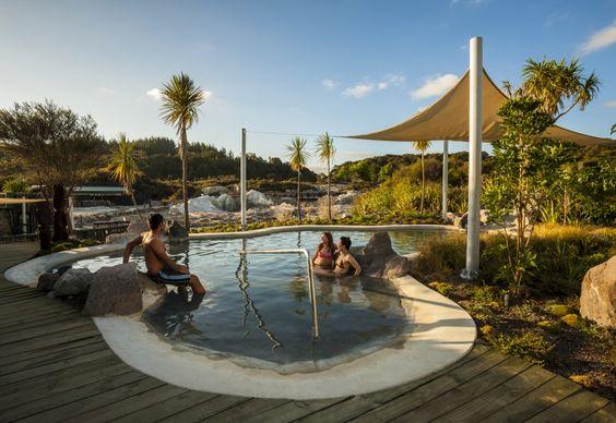 Hell's Gate Twilight Spa   Rotorua, New Zealand #LetsGetLost