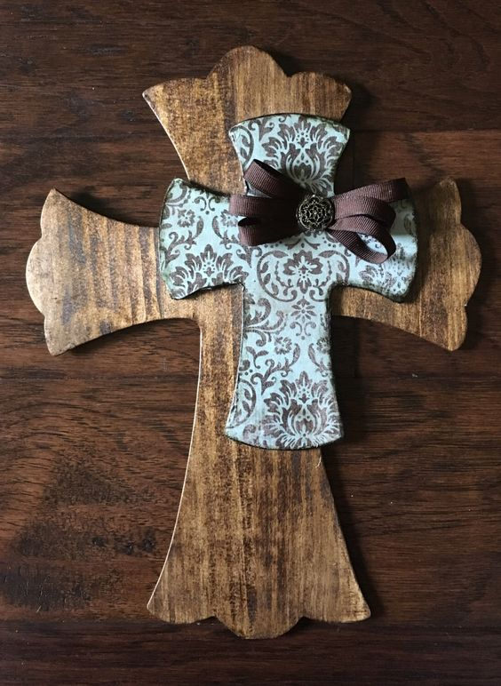 A personal favorite from my Etsy shop https://www.etsy.com/listing/482112240/9-x-12-wooden-cross