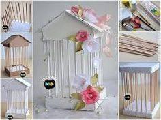 Resultado de imagen para como hacer una jaula decorativa