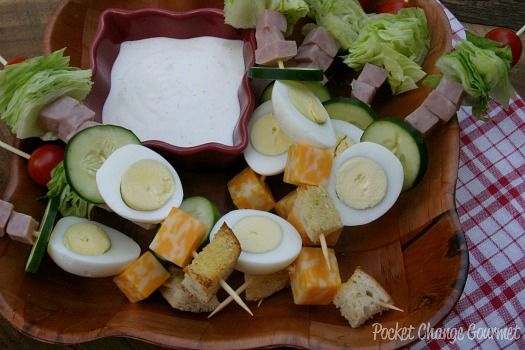 Chef Salad: Food on a Stick