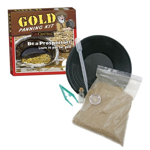 by GeoCentral, Gold Panning Kit. Found on MSAProductShop and in museum stores