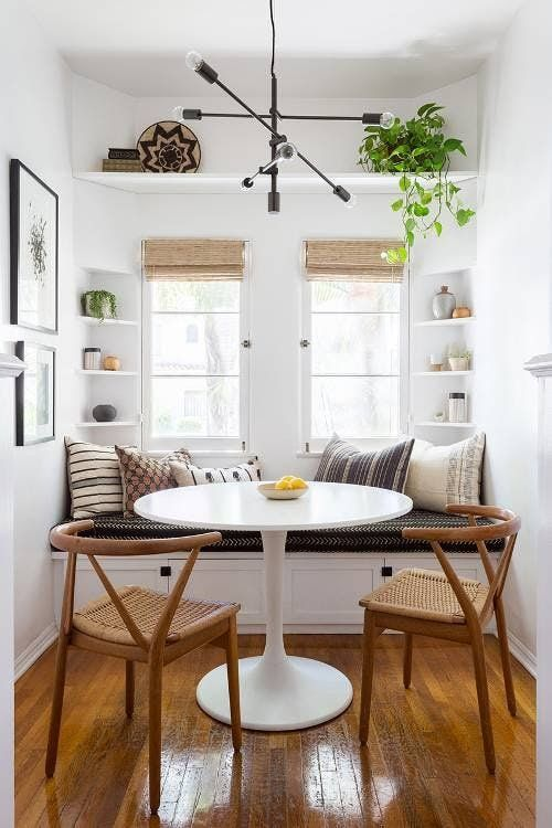 25 Stylish Breakfast Nooks To Pin Right Now Living Room