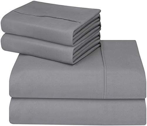 Utopia Bedding 4 Piece Microfiber Bed Sheet Set Fade An Https Www Amazon Com Dp B00nx0wxqi Ref Cm Microfiber Bed Sheets Bed Sheet Sets Queen Bed Sheets