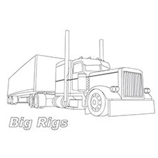 Coloring Page Truck Coloring Pages Monster Truck Coloring Pages Coloring Pages