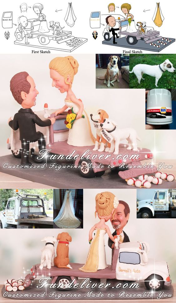 tow truck wedding cake topper tow truck wedding cake toppers the of a tow truck 21116