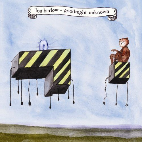 /// Lou Barlow · Goodnight Unknown :) #music #albumcover #design  #indie #songwriter #folk