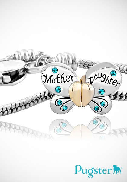 Bracelets daughters and butterflies on pinterest for The bond between mother and daughter