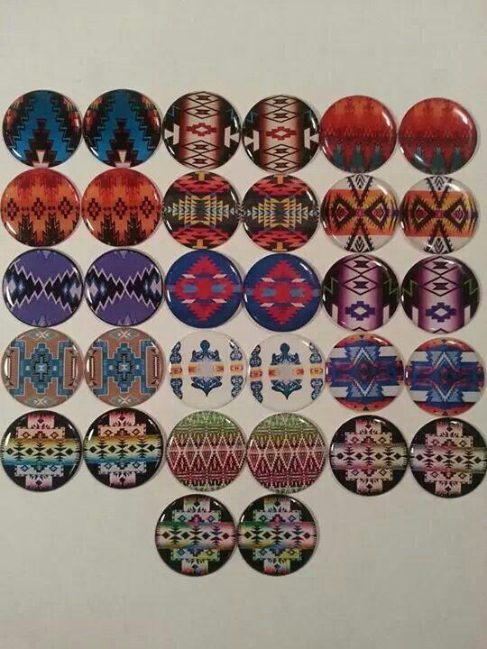 Pendleton bottle cap images native american beadwork for Bottle cap designs