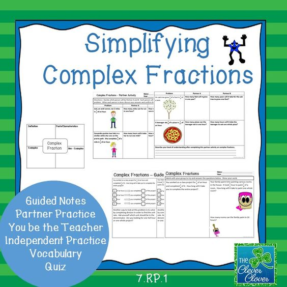 math worksheet : fractions activities and note on pinterest : Simplifying Complex Fractions Worksheet