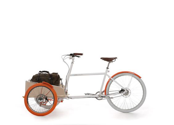 """Fuseproject's LOCAL. """"Over the years, as our lives have become more complicated and full of stuff to take to work or play, our traditional bicycles became less practical. So we designed the LOCAL to address the needs of our daily lives...and to bring back the fun of riding around the neighborhood. LOCAL is the bike version of the practical pick-up truck: transportation you can live with – it's utility and function isn't limited to carrying a laptop or a sixpack."""""""